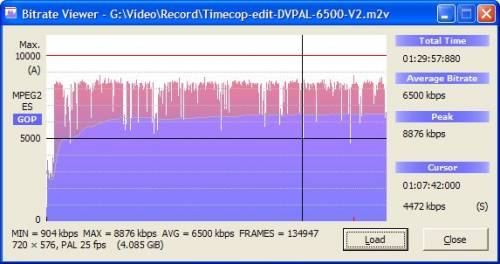 Video Bitrate Viewer